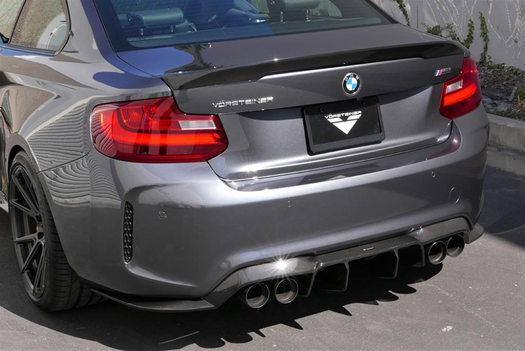 Vorsteiner Aero Deck Lid Spoiler Carbon For BMW F87 M2