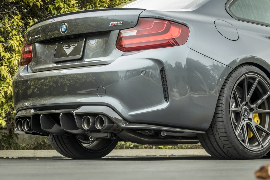Vorsteiner  Rear Diffuser Carbon For BMW F87 M2