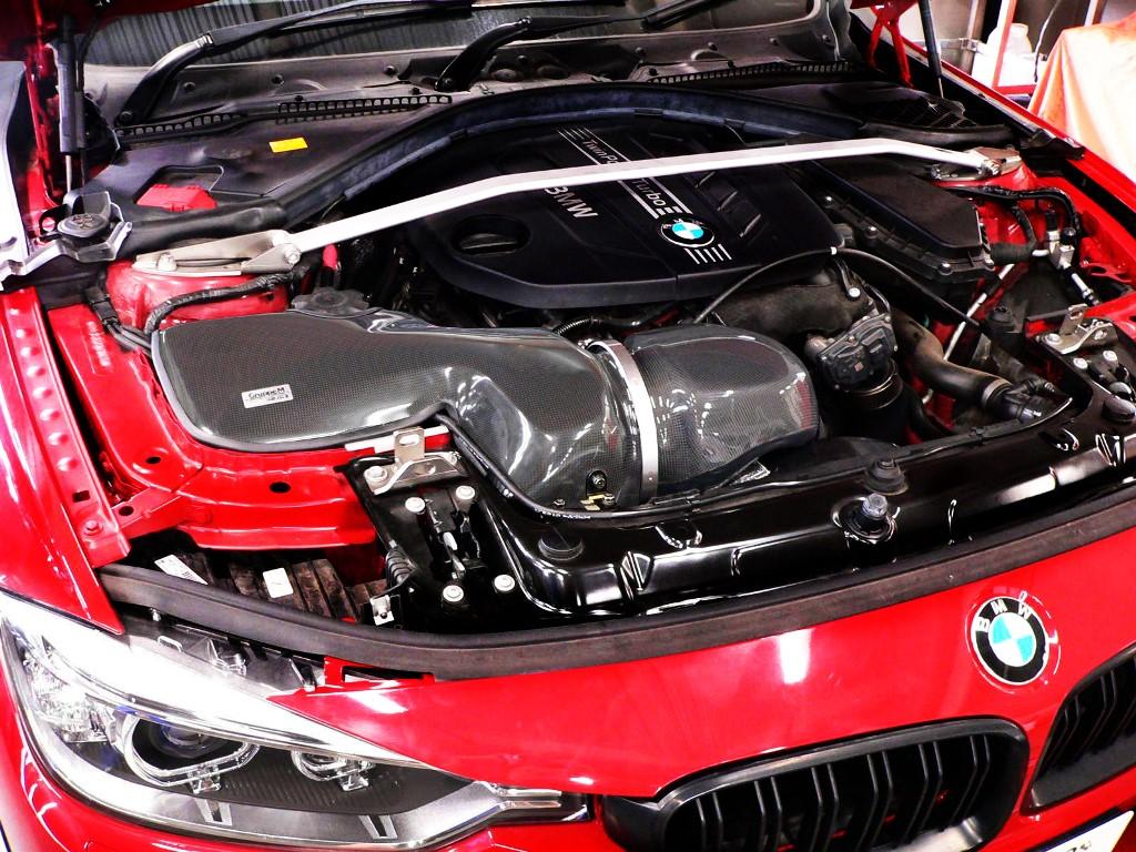 GruppeM(グループエム)RAM AIR SYSTEM for BMW F30/F31 320d エンジン : N47D20C