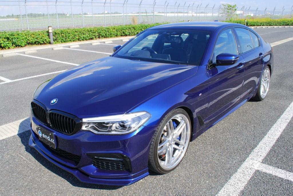 end.cc フロントリップ FRP BMW G30/G31 M-Sport用