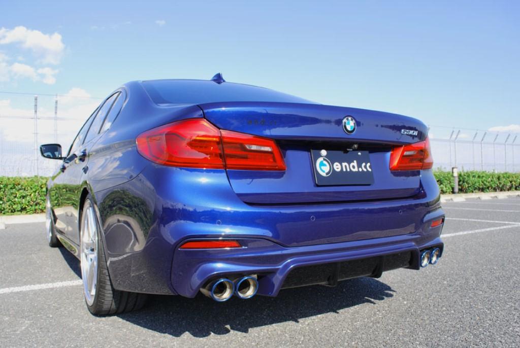 end.cc リアディフューザー FRP BMW G30 M-SPORT