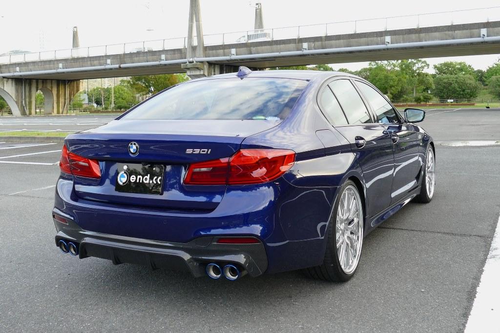 end.cc リアディフューザー カーボン BMW G30 M-SPORT