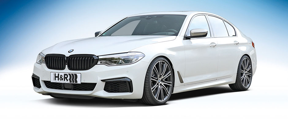 Lowdown spring for BMW G30 sedan 2WD 530e made in H&R