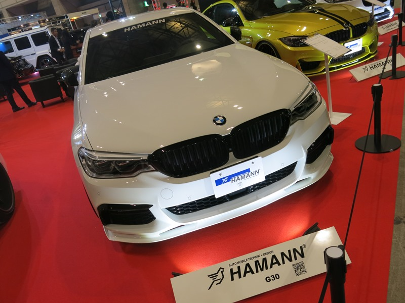 It is for HAMANN front desk spoiler BMW G30/G31 M sports