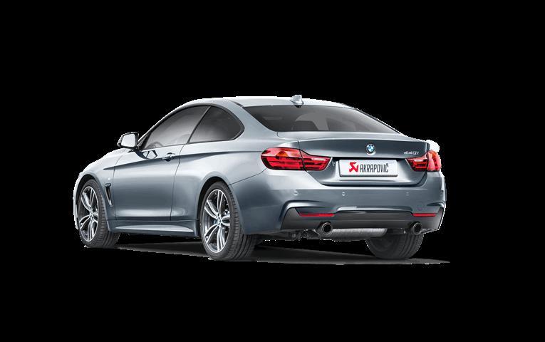 AKRAPOVIC carbon tail for BMW F32/F33 440i