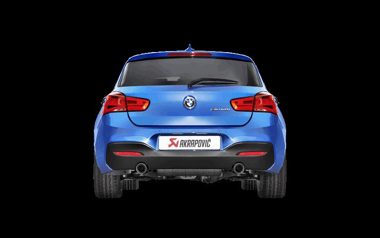 AKRAPOVIC carbon tail for BMW F20 140i