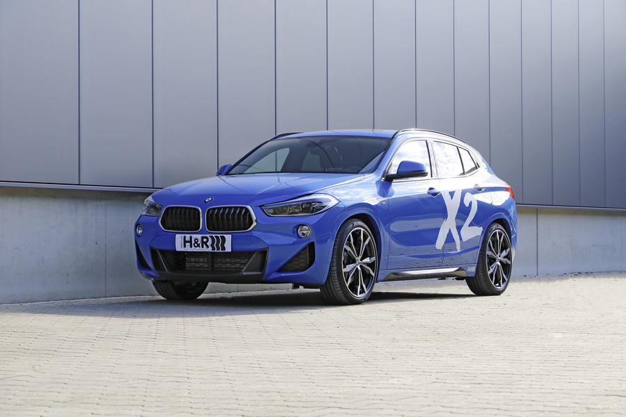 H&R製ローダウンスプリングFor BMW F39 X2 xDrive