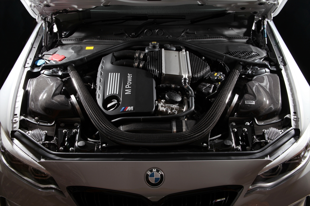GruppeM(グループエム)RAM AIR SYSTEM(ラムエアーシステム)BMW F87 M2 Competition