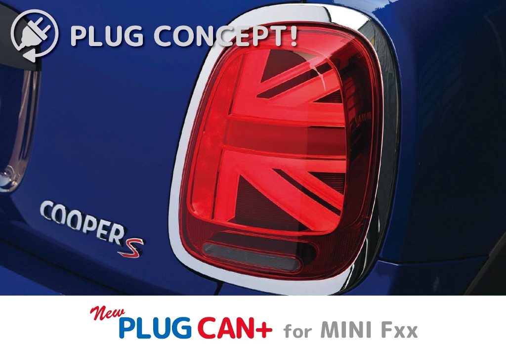 PLUG CAN+ for MINI Fxx