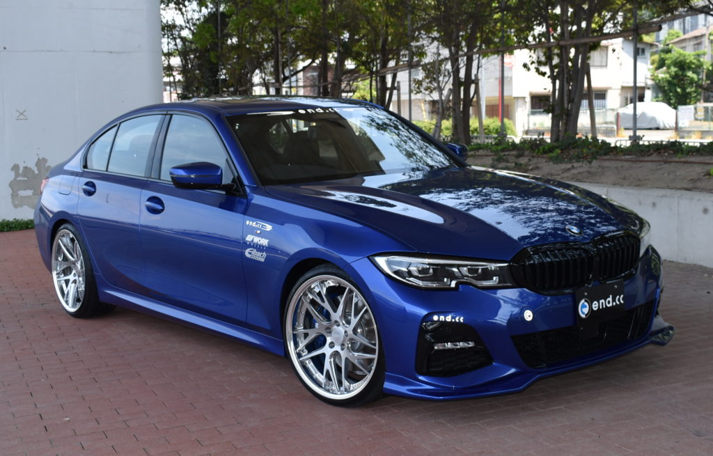 end.cc フロントリップ FRP BMW G20 M-Sport