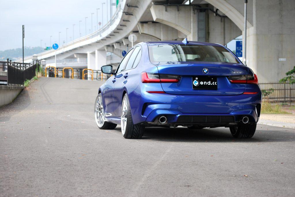 end.cc リアディフューザー BMW G20 M-SPORT FRP&CARBON