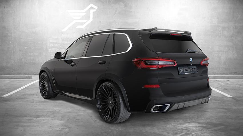 HAMANN リアディフューザーパネル For BMW G05 X5 M-Sport