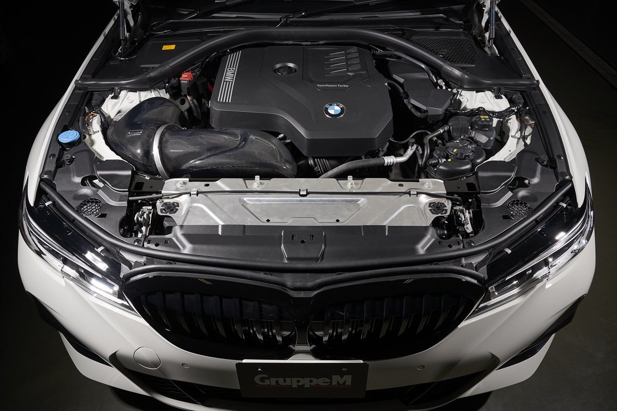 GruppeM(グループエム)RAM AIR SYSTEM for BMW G20/G21 320i/330i