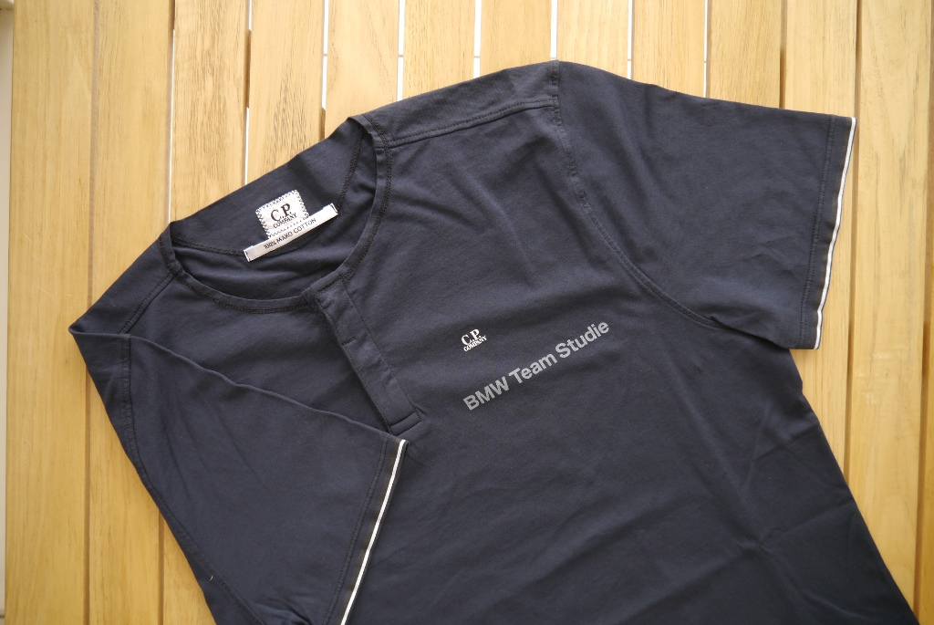 BMW Team StudieC.P.COMPANY 2016 T Shirts Bluegray