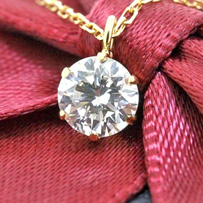 期間限定 店内全品ポイント10倍 【あす楽対応】 一粒ダイヤ ネックレス ダイヤモンド ネックレス k18 一粒ダイヤモンド ネックレス 0.1ct SIクラス H-Iカラー あす楽対応 送料無料 一粒 K18 18金 スキンジュエリー 重ねづけ