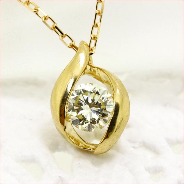 一粒ダイヤ ネックレス ダイヤモンド ネックレス k18 一粒ダイヤモンド ネックレス 0.2ct SIクラス H-Iカラー 送料無料 一粒 K18 18金 スキンジュエリー 重ねづけ