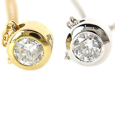 期間限定 店内全品ポイント10倍 一粒 ダイヤモンド ネックレス ダイヤ 0.1ct K18 18金 重ねづけ