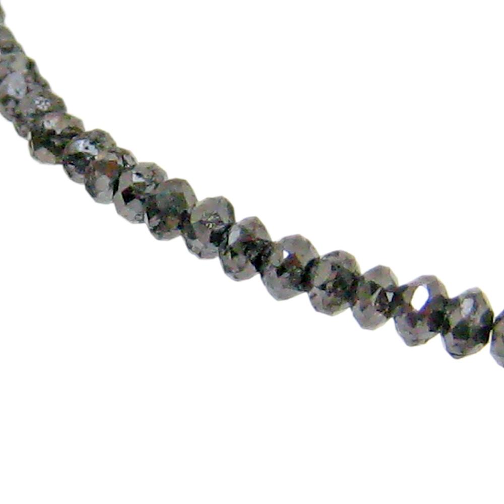 期間限定 店内全品ポイント10倍 【あす楽対応】 ブラックダイヤモンド ネックレス ブラック ダイヤ 20ct グレードA