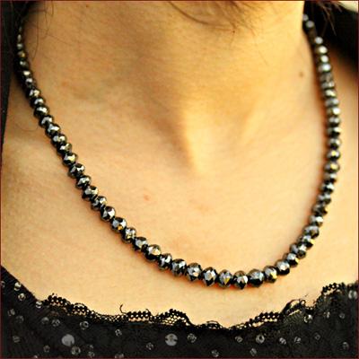 ジュエリー・アクセサリー ブラックダイヤモンド ネックレス ダイヤモンド ネックレス 150ct グレードAAA ブラックダイヤ ネックレス ブラック ネックレス メンズ ネックレス 【コンビニ受取対応商品】