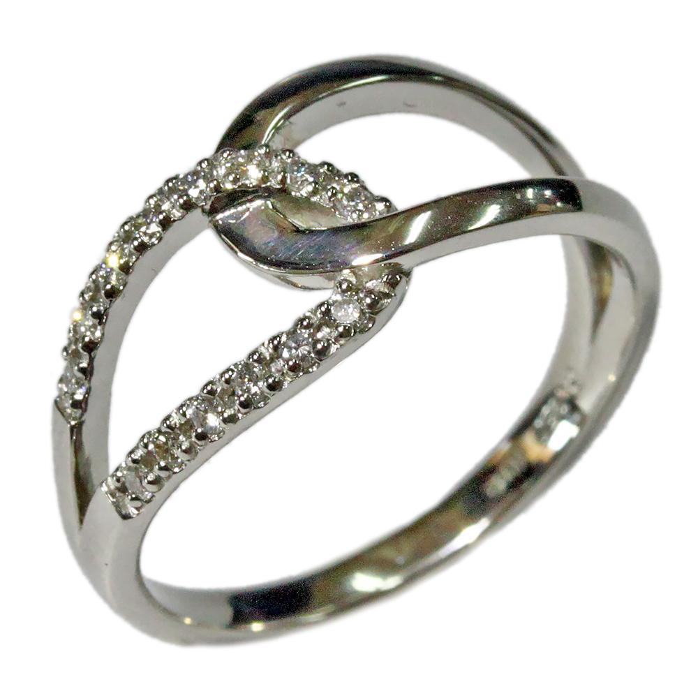 ダイヤモンド リング ジュエリー 18金 K18 ピンク PG イエロー YG ホワイト WG アンティーク デザイン リング レディース 指輪 ファッションリング 4月誕生石 送料無料