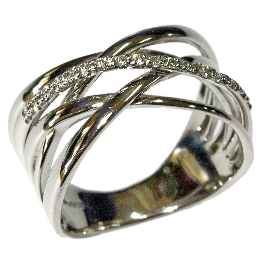 期間限定 店内全品ポイント10倍 キュービックジルコニア リング ジュエリー シルバー925 ピンク イエロー ホワイトコーテイング 指輪 アンティーク デザイン リング 幅広 クロスライン レディース 指輪 ファッションリング 4月誕生石 送料無料