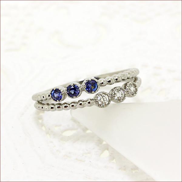 ベニトアイト ダイヤモンド リング 0.12ct プラチナ 指輪 ダイヤモンド リング プラチナ Pt900 【送料無料】