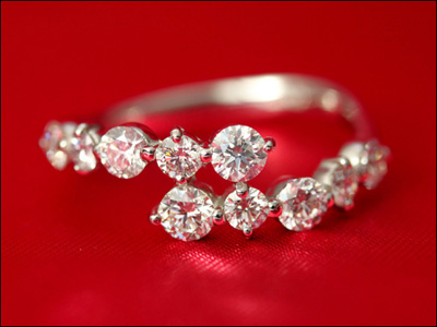 期間限定 店内全品ポイント10倍 ジュエリー・アクセサリー ダイヤモンド リング スイートテンダイヤモンド リング 1.0ct スイートテン スイート10 ダイヤ リング ダイヤモンド リング プラチナ900 プラチナ Pt 指輪 レディース シンプル