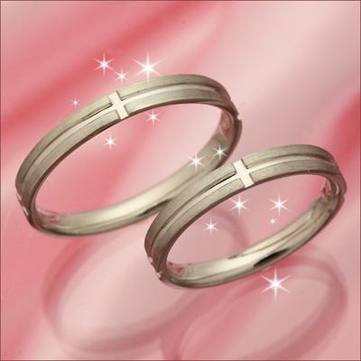 結婚指輪 マリッジリング プラチナ 2本セット 送料無料 ペアリング カップル ペア カットリング 指輪 地金リング レディース リング プラチナ Pt 重ねづけ リング
