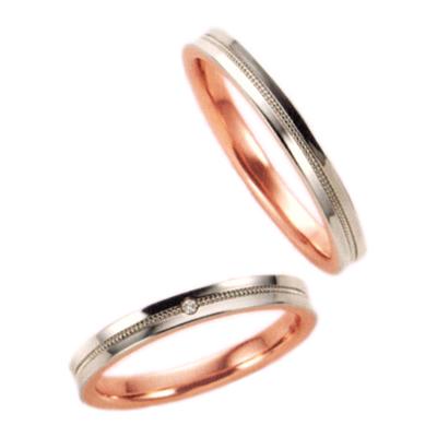期間限定 店内全品ポイント10倍 結婚指輪 マリッジリング プラチナ 2本セット 送料無料 ペアリング カップル ダイヤモンド リング 指輪 地金リング レディース リング プラチナ リング プラチナ Pt ピンクゴールド PG