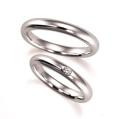期間限定 店内全品ポイント10倍 ジュエリー・アクセサリー 結婚指輪 マリッジリング プラチナ 2本セット 送料無料 ペアリング カップル ダイヤモンド リング 指輪 地金リング レディース リング プラチナ リング プラチナ Pt