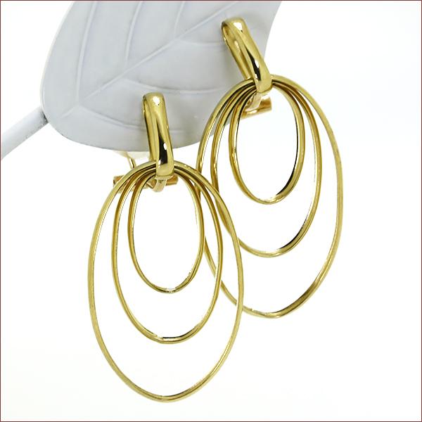 期間限定 店内全品ポイント10倍 揺れるイヤリング 輝くイヤリング 輪っかの大型イヤリング