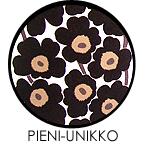 marimekko(マリメッコ)ファブリックパネル ファブリックボード PIENI-UNIKKO(BLK)[ご注文サイズ:W140cm×H90cm]北欧 ファブリック