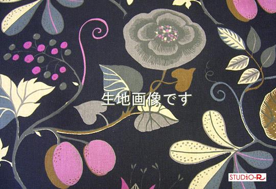 【ファブリックパネル/ファブリックボード】 Kinamark(シナマーク) CAPRI(BLK) [ご注文サイズ:W140cm×H60cm]【北欧 ファブリック】
