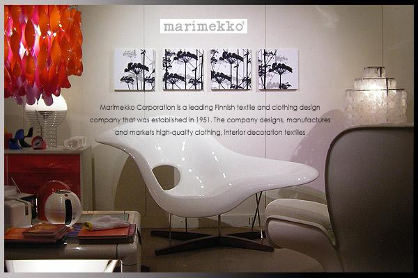 marimekko(マリメッコ) ファブリックパネル ファブリックボード PUTKINOTKO(BLK)[SIZE:W30×H30×4] 各サイズ選べます 北欧 ファブリック