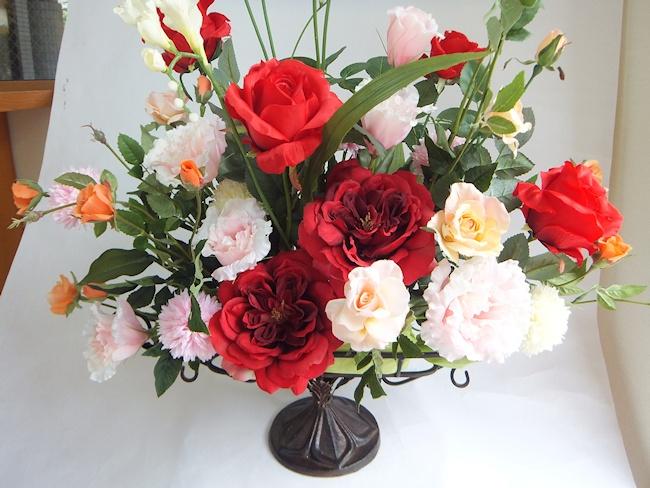 オーダーメイドアレンジメント 【楽天ランキング第一位獲得】 【インテリアフラワー】 【アートフラワ(高級造花)】