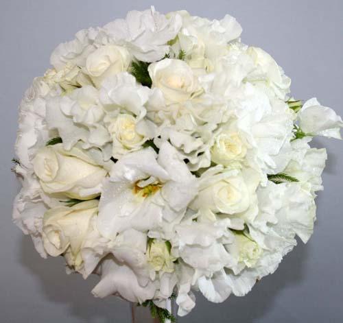 生花 ラウンドブーケ ブトニア付 結婚式 ウエディング ブライダル 花束 アレンジ フラワーギフト 花の贈り物
