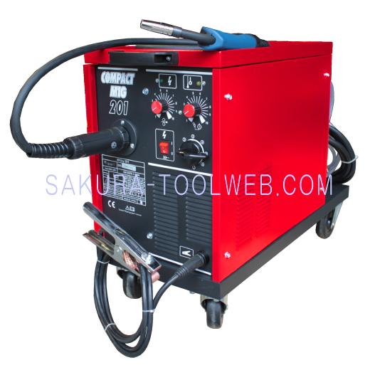 半自動溶接機 COMPACT MIG C201