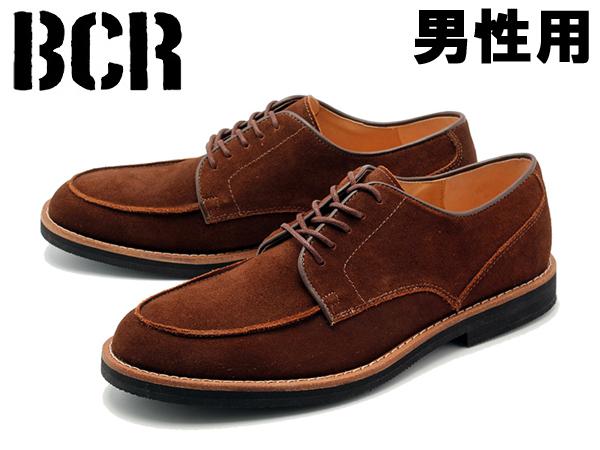 BCR BC026 モックトゥ カジュアルシューズ 男性用 BC-026 メンズ Dブラウン(01-12300266)