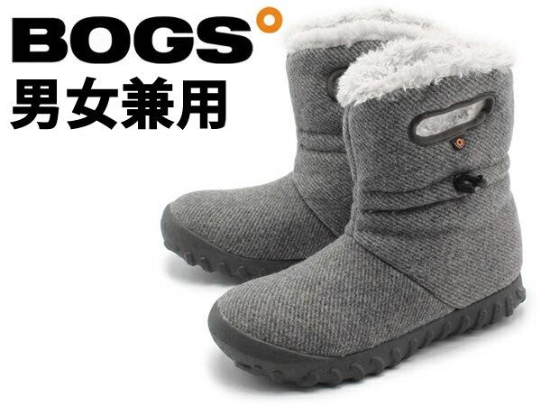 ボグス Bモック ウール 男性用兼女性用 BOGS B-MOC WOOL 72106 ショートブーツ チャコール (01-13101571)
