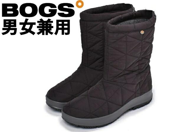 ボグス スノーデイ ミッド 男性用兼女性用 BOGS SNOWDAY MID 72238 メンズ レディース スノーブーツ ブラック (01-13101596)