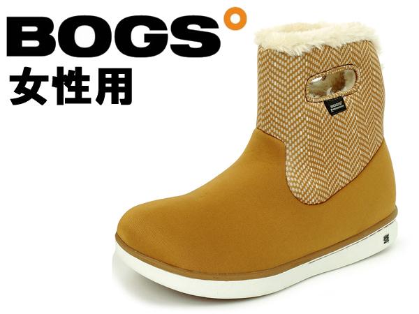 ボグス ショート ブーツ 女性用 BOGS SHORT BOOTS 78410A レディース 防水 防滑 保温 ブーツ ボーンブラウンマルチ(01-13105006)