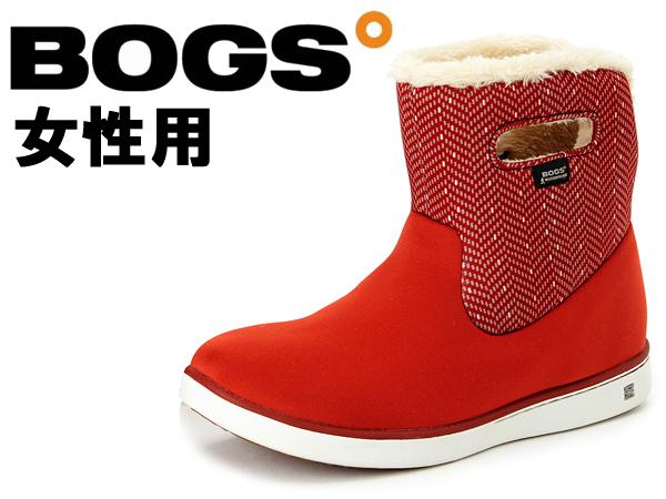 ボグス ショート ブーツ 女性用 BOGS SHORT BOOTS 78410A レディース 防水 防滑 保温 ブーツ レッドマルチ(01-13105007)