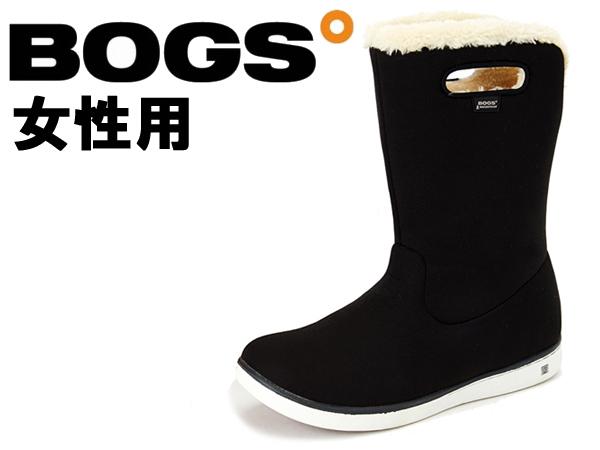 ボグス ミッドブーツ 女性用 BOGS MID BOOTS 78408A レディース 防水 防滑 保温 ブーツ ブラック(01-13105100)