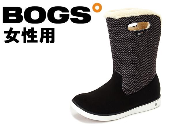 ボグス ミッド ブーツ 女性用 BOGS MID BOOTS 78008A レディース 防水 防滑 保温 ブーツ ブラックマルチ(01-13105102)