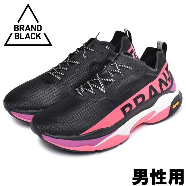 ブランドブラック カイトレーサー 男性用 BRAND BLACK KITE RACER 427BB メンズ スニーカー ブラックxマルチ (01-13560024)