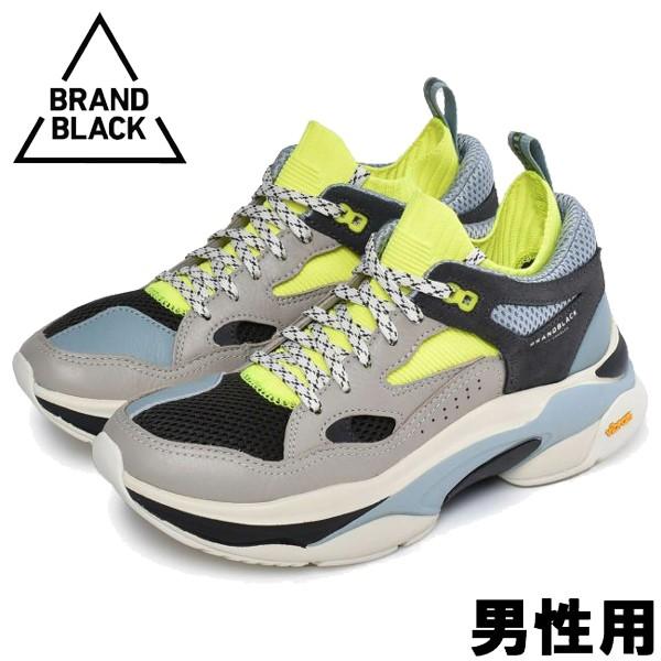ブランドブラック サガ 男性用 BRAND BLACK SAGA 426BB メンズ スニーカー ターコイズxベージュ (01-13560030)
