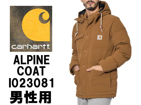 カーハート アルパイン コート 男性用 CARHARTT ALPINE COAT I023081 16 メンズ ジャケット (20252030)