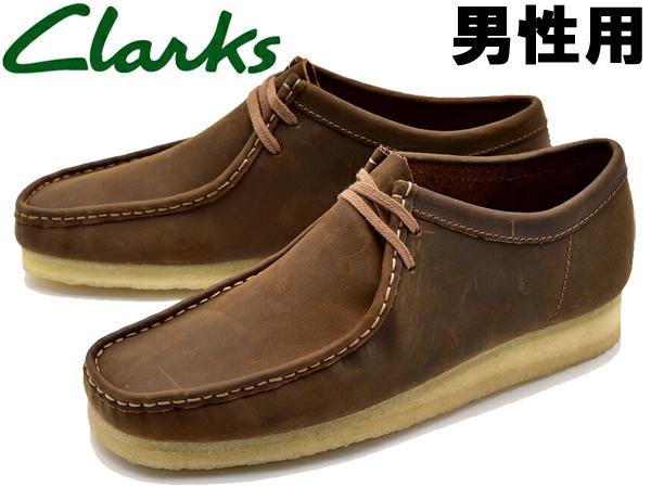 クラークス ワラビー 男性用 CLARKS WALLABEE 26134200 メンズ カジュアルシューズ (10132762)