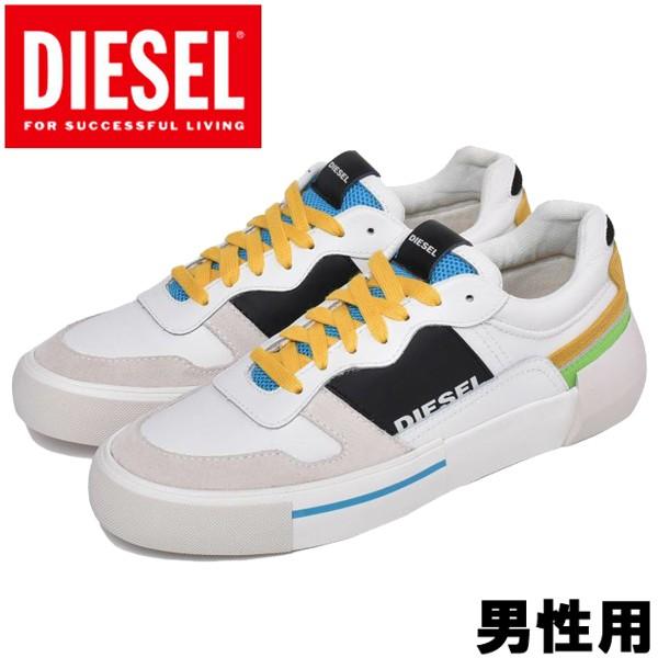 ディーゼル S-DESE MG LOW 男性用 DIESEL Y02109-P2462 メンズ スニーカー スターホワイトxハワイアン (01-13161181)