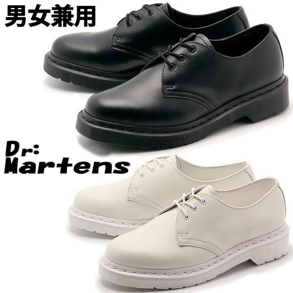ドクターマーチン 1461 モノ 3ホール 男性用兼女性用 Dr.Martens MONO 3-EYE SHOE R14345001 R14346100 メンズ レディース 男性用 女性用ブーツ(1033-0060)